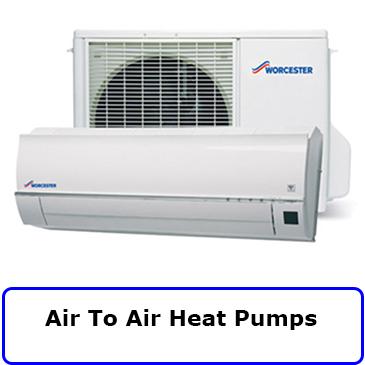 air to air heat pumps