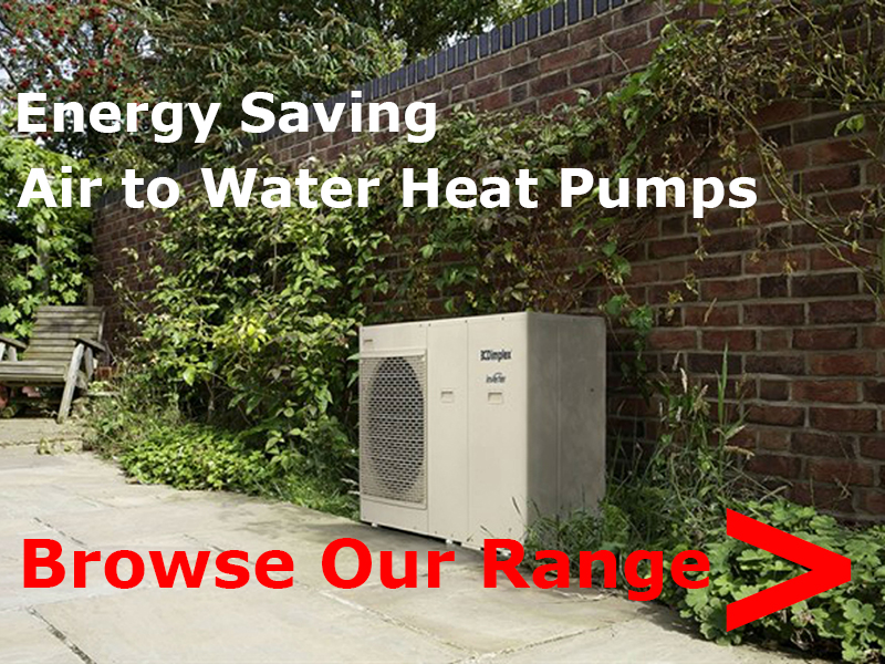 Energy Saving air to water heat pumps