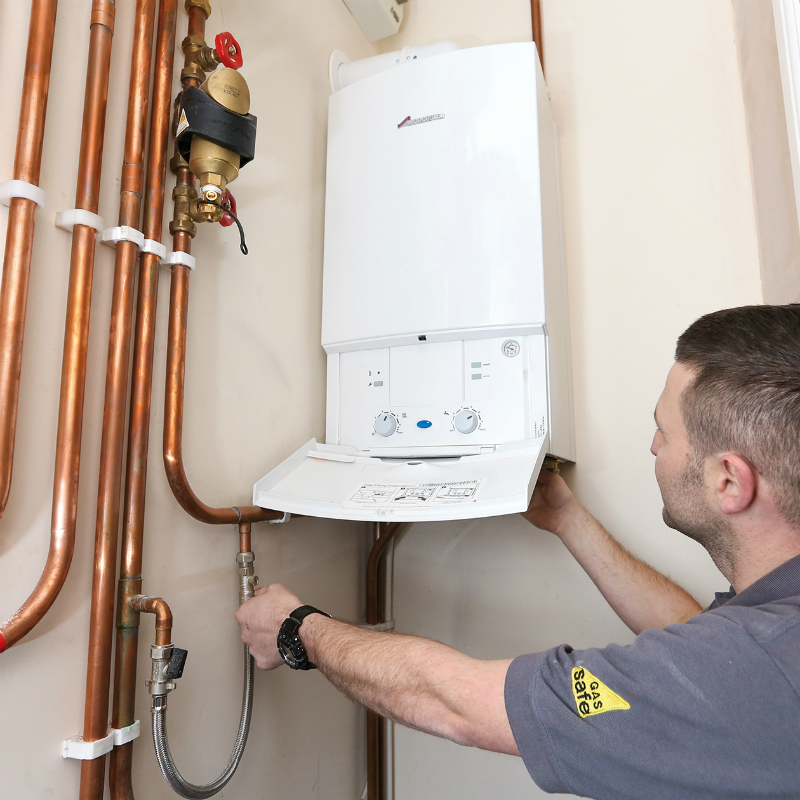 Gas boiler efficiency