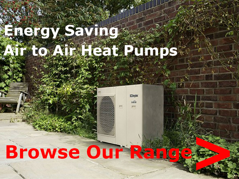 browse air to air heat pumps