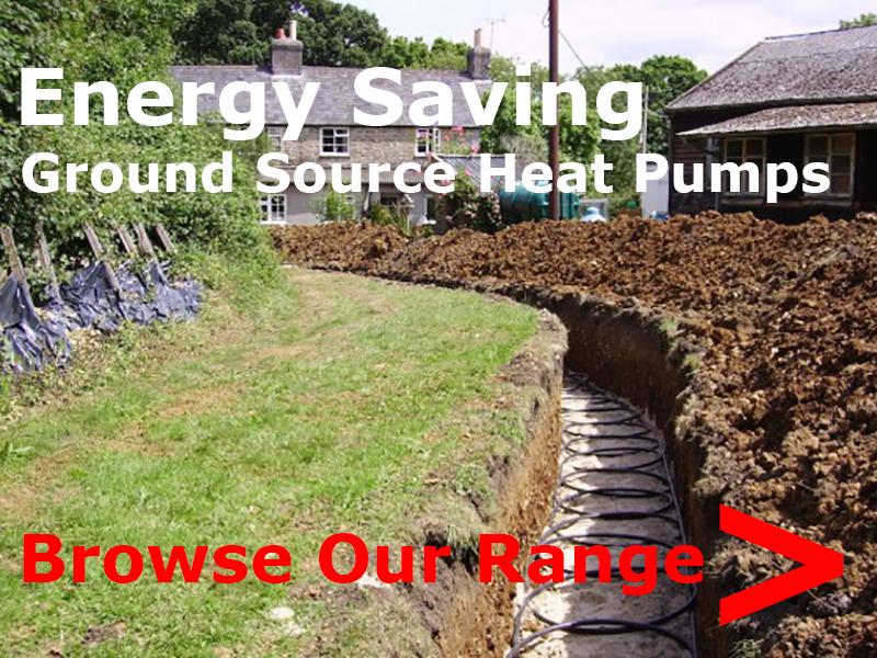 browse ground source heat pump range
