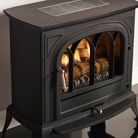 Ekofires 6010 Flueless gas stove black