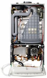 Worcester Bosch System Gas Boiler internal view